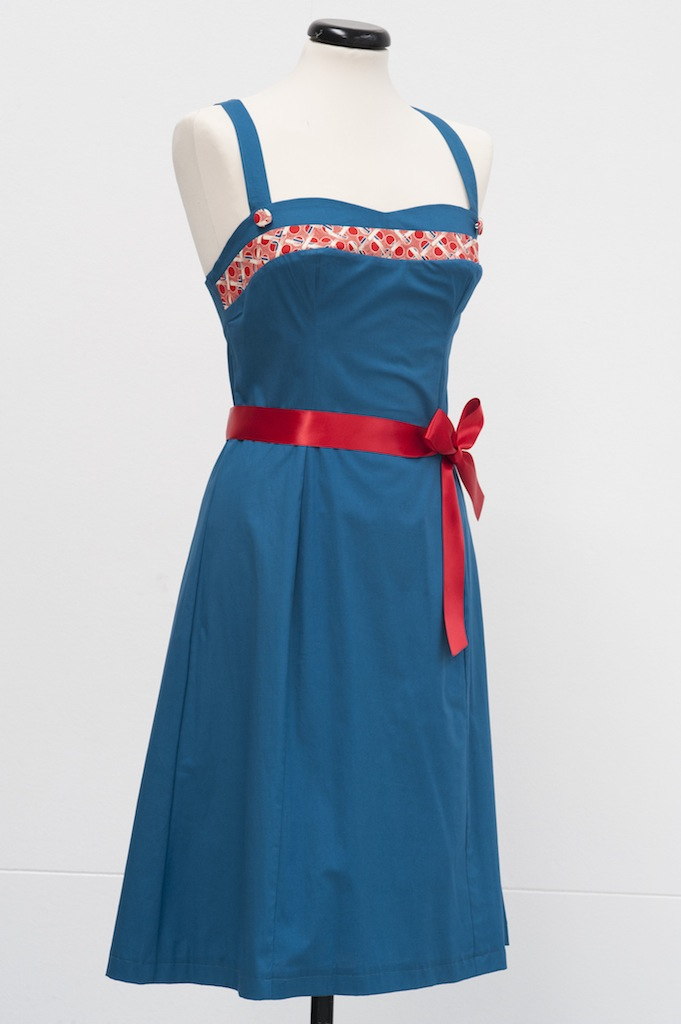 Sabrina Sundress - teal